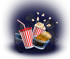 Movies and Popcorn - Amazing Together